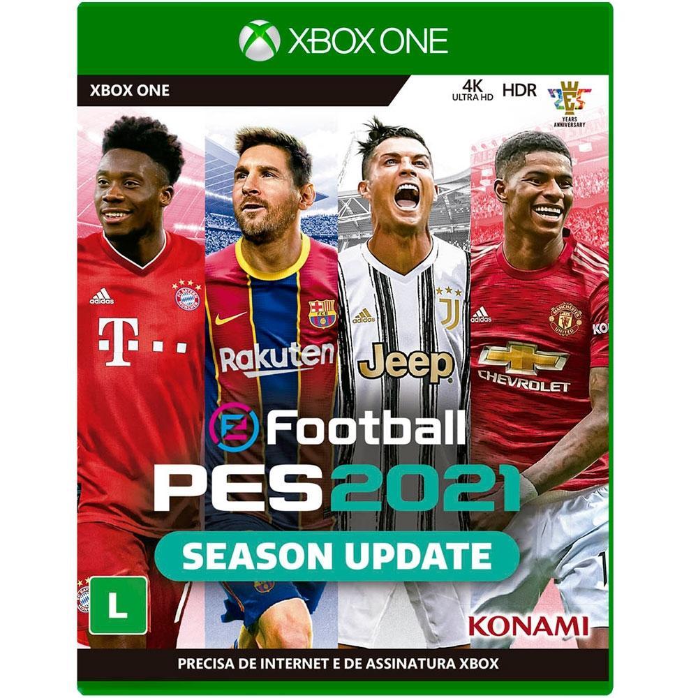 Jogo Pes 2021 (Season Update) - Xbox One