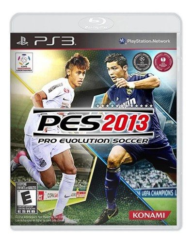 Jogo Pes (Pro Evolution Soccer) 2013 - PS3 (seminovo)