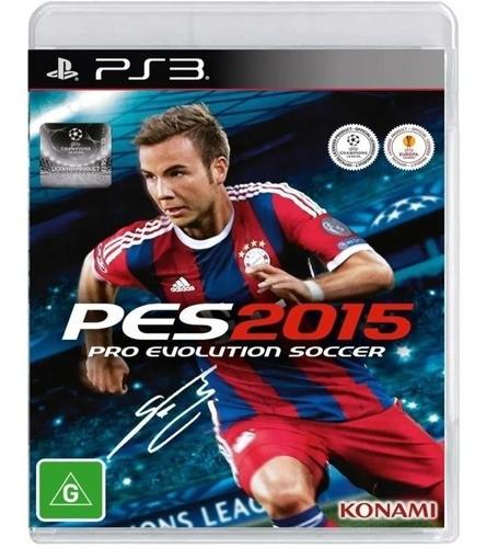 Jogo Pro Evolution Soccer 2015 (pes 2015) - PS3 (seminovo)