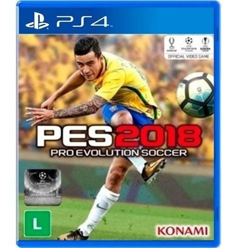 Jogo Pro Evolution Soccer 2018 Pes 2018 - PS4 (seminovo)