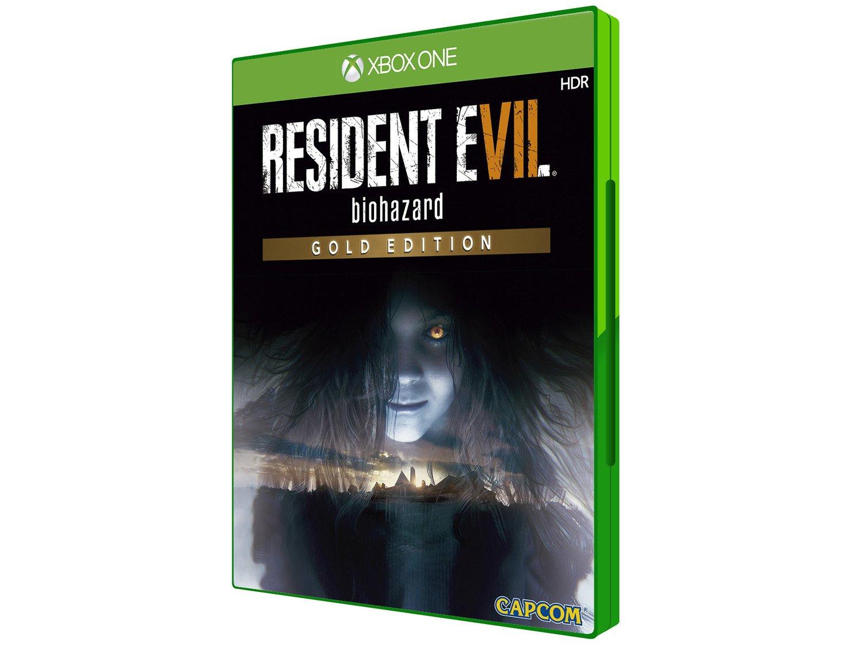 Jogo Resident Evil 7 Gold Edition Xbox One (seminovo)