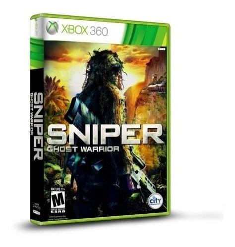 Jogo Sniper Ghost Warrior - Xbox 360 (seminovo)