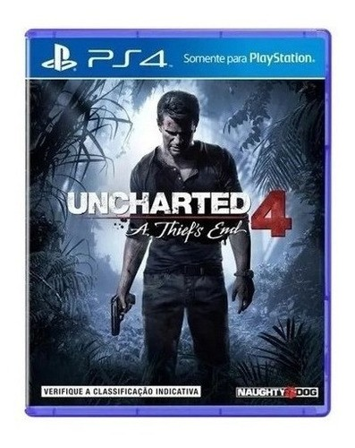 Jogo Uncharted 4 A Thiefs End  - Ps4