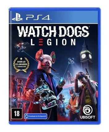 Jogo Watch Dogs Legion - PS4