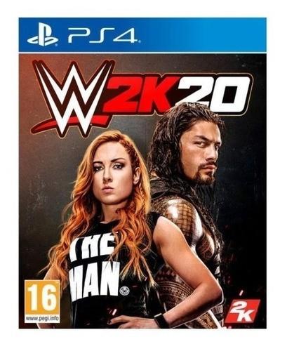 Jogo WWE 2k20 Seminovo PS4