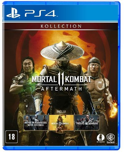 Jogo Mortal Kombat 11 (Aftermath) - PS4
