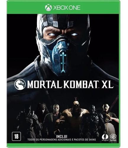 - Mortal Kombat Xl Edition Xbox One - Seminovo