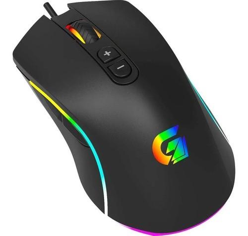 Mouse Gamer 10000dpi Led Rgb Cruiser Fortrek