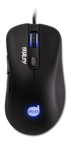 Mouse Gamer Dazz Fatality Led 3500 Dpi Preto