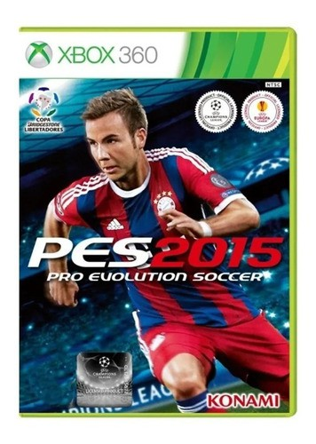 Pes 15 Pro Evolution Soccer 2015 Xbox 360 Original Seminovo