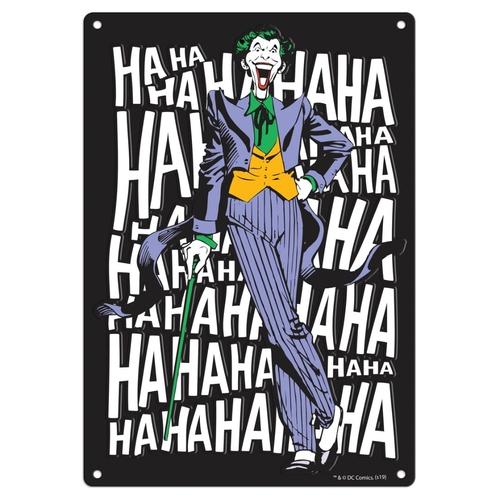 Placa Decorativa Al Jocker Laugh