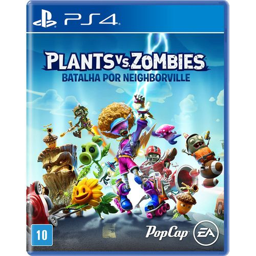 Plants Vs Zombies: Batalha por Neighborville - PS4