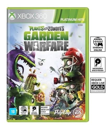 Jogo Plants Vs Zombies Garden Warfare  - Xbox 360 (Semi-Novo)