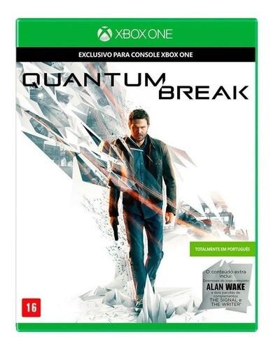 Quantum Break Xbox One Mídia Física Seminovo