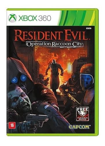 Resident Evil: Operation Raccoon City - Xbox 360 Seminovo