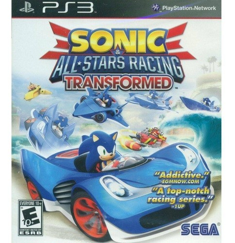 Jogo Sonic All Stars Racing Transformed PS3