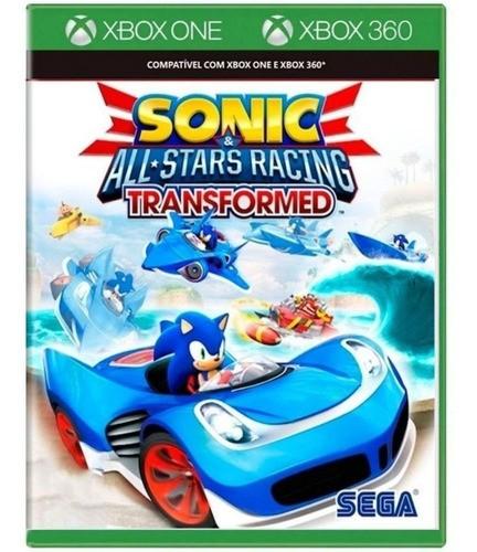 Jogo Sonic All Stars Racing Transformed -  Xbox One - Xbox 360