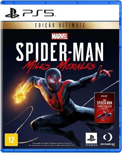 Jogo Spider-man Miles Morales Edição Deluxe Ps5