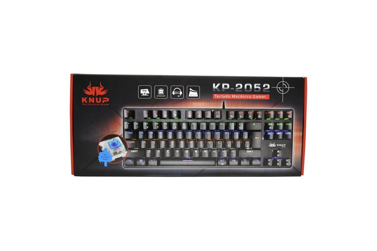 Teclado Gamer Mecânico Knup KP-2052