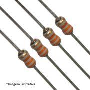 Resistor Filme de Carbono CR12 1/6W 5% Valores 1R0 Até 910R Caixa com 5000 Peças