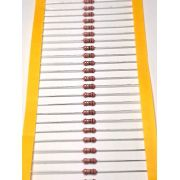 Resistor Filme de Carbono CR50S 1/2WS 5% Valores 1R0 Até 910R Caixa com 5000 Peças