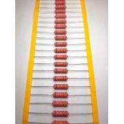 Resistores de Fio 5WS 5% Valores 1K0 Até 55K Caixa com 500 Peças