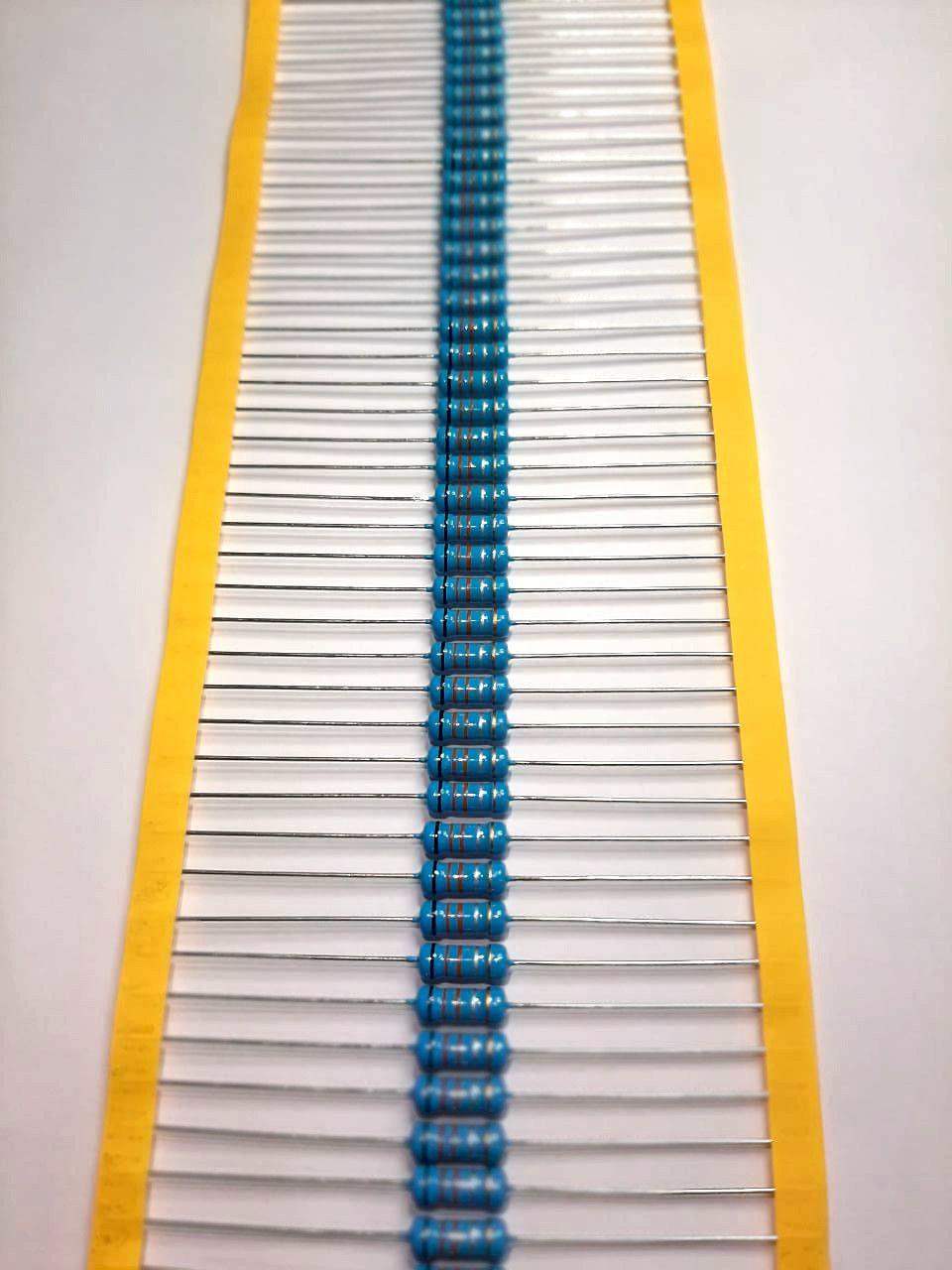 Resistor Metal Filme 2WS 5% Valores 1K0 Até 910K Caixa com 1000 Peças