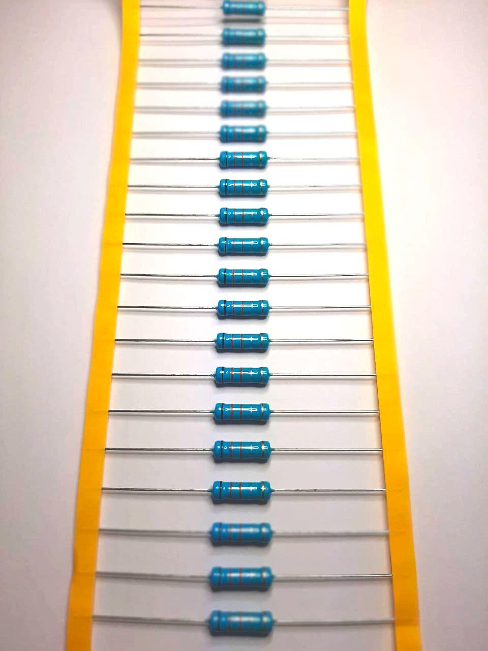 Resistor Metal Filme 3WS 5% Valores 1M0 Até 9M1 Caixa com 1000 Peças