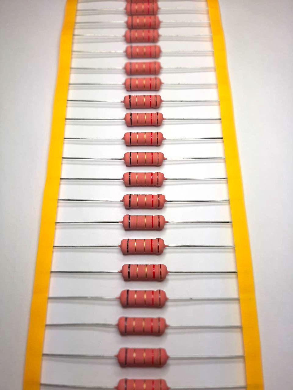 Resistores de Fio 5WS 5% Valores 1R0 Até 820R Caixa com 500 Peças