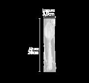 Colher Refeição - Linha Forte - Sache A Granel - Branca