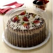 Embalagens para bolos redondos com tampa 2kg - Caixa 50und