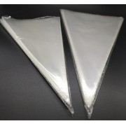 Embalagens plásticas modelo cone - Pacote 50und