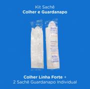 Kit Sachê Colher e Guardanapo - 400 Unidades