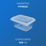 Marmita Fitness Para Freezer e Micro-Ondas - 500 ml
