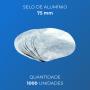 Selo de alumínio - 75mm