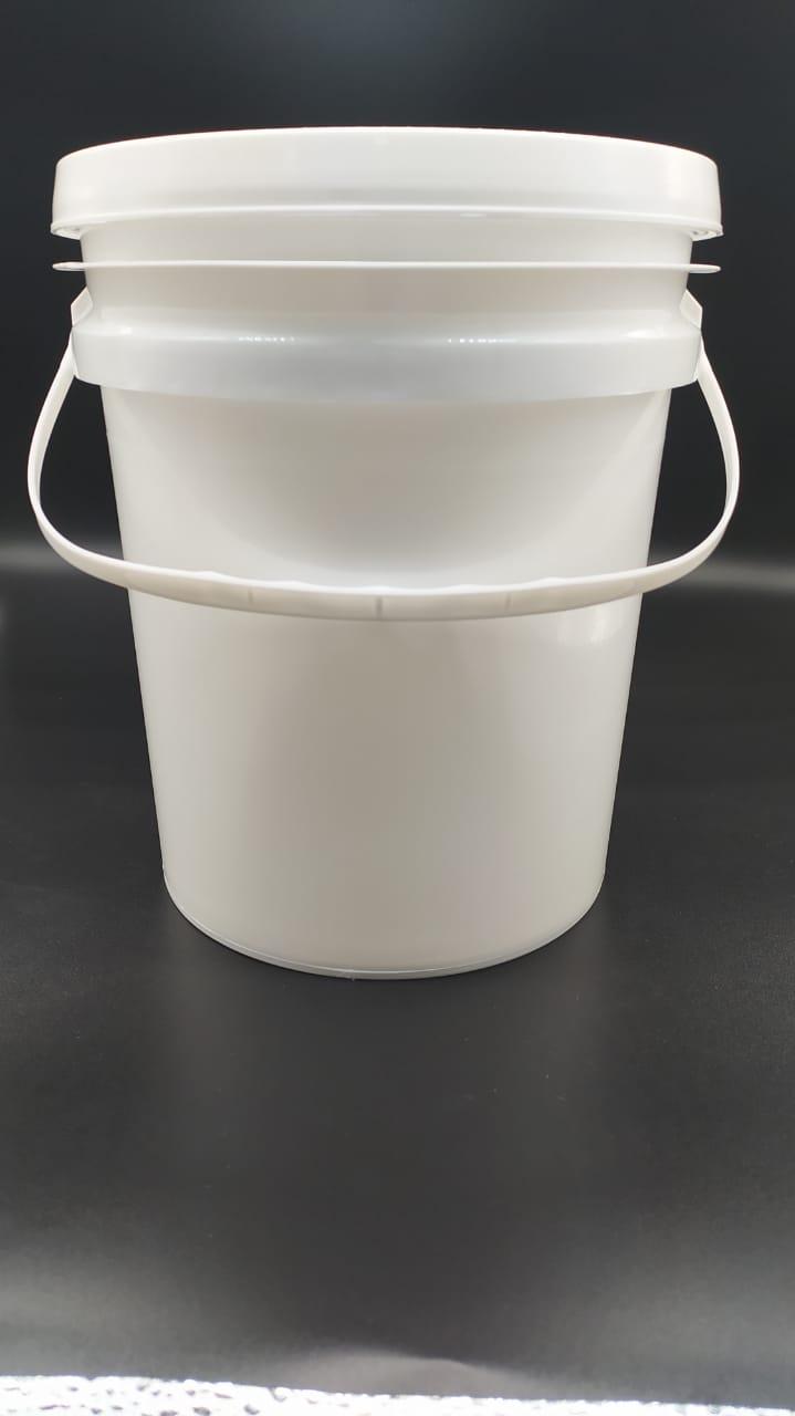 Balde Branco Com Alça  5 litros - Fardo 10und