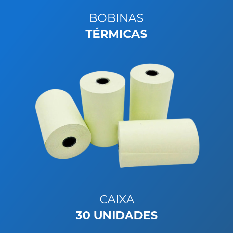 Bobinas Térmicas  80x30 Metros
