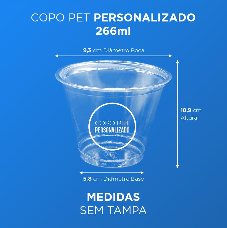 Copo PET Personalizado - 266ml