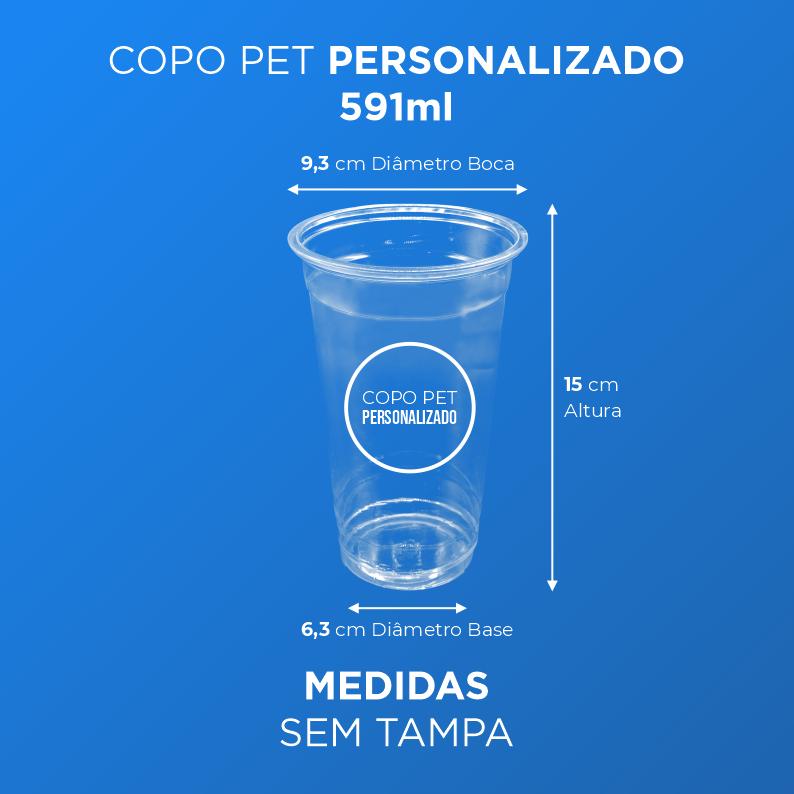 Copo PET Personalizado - 591ml