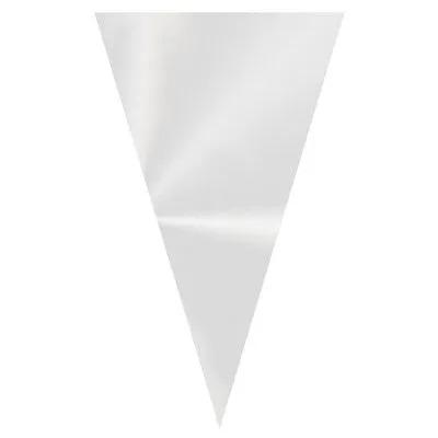 Embalagem Plásticas Modelo Cone Pequena - 50 Unidades