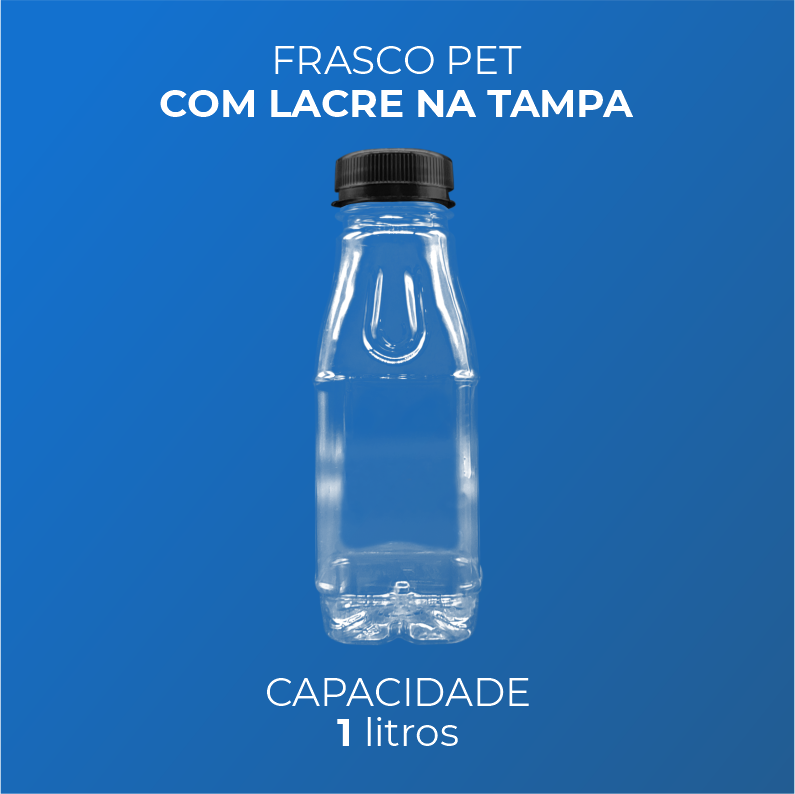 Frasco PET para Bebidas - 1 Litro