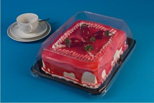Embalagem Para Bolo e Torta Diamante Retangular - 3kg