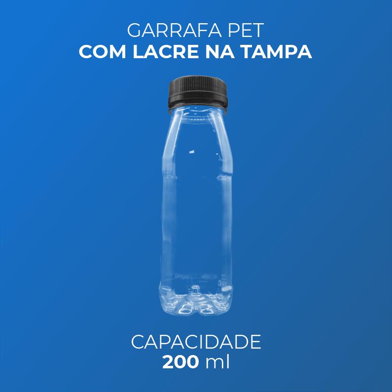 Garrafa PET para Bebidas - 200 ml