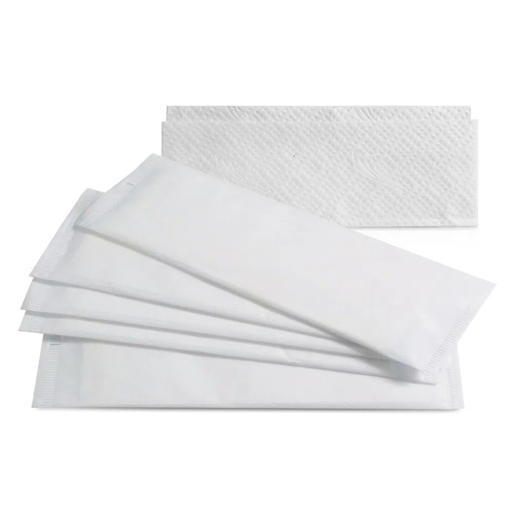 Guardanapos sache lisos branco - Caixa 2000und