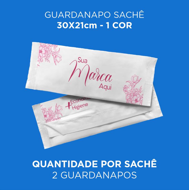 Guardanapos Personalizados 30x21cm - Caixa