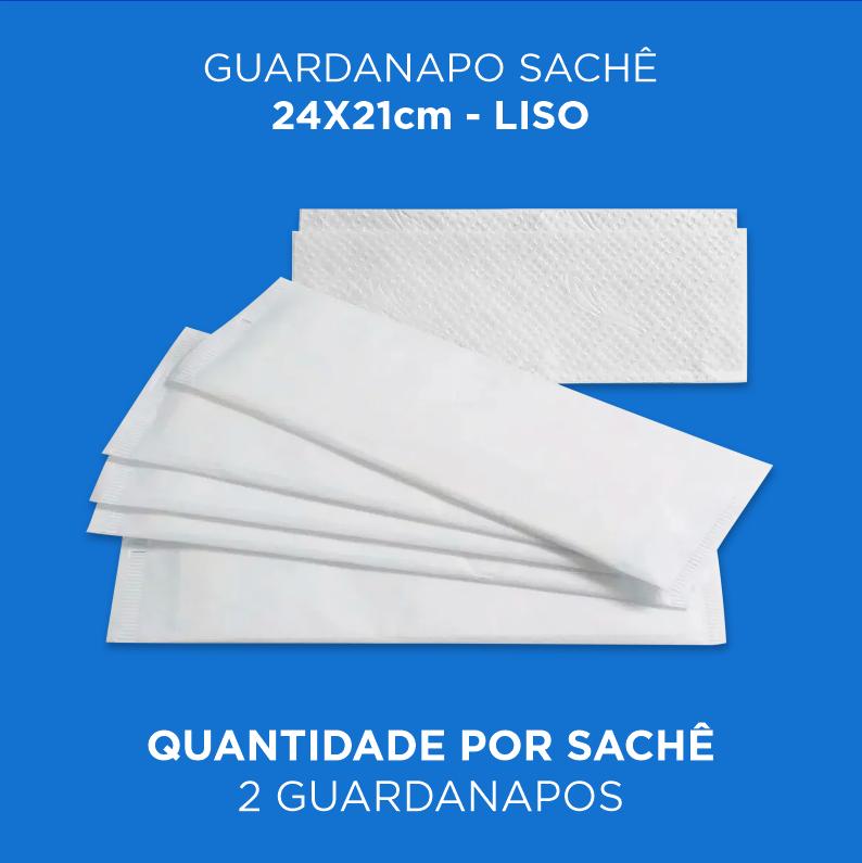Guardanapos Sache Lisos Branco - Caixa 2000 und.