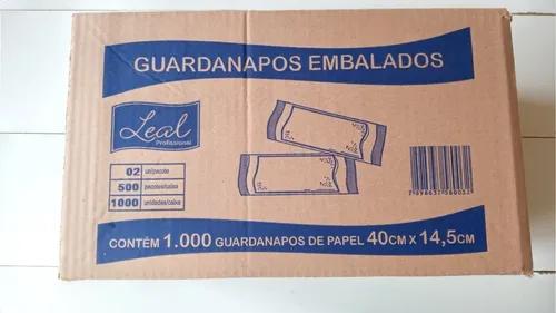 Guardanapos Sache Lisos Branco - Caixa 500 und.