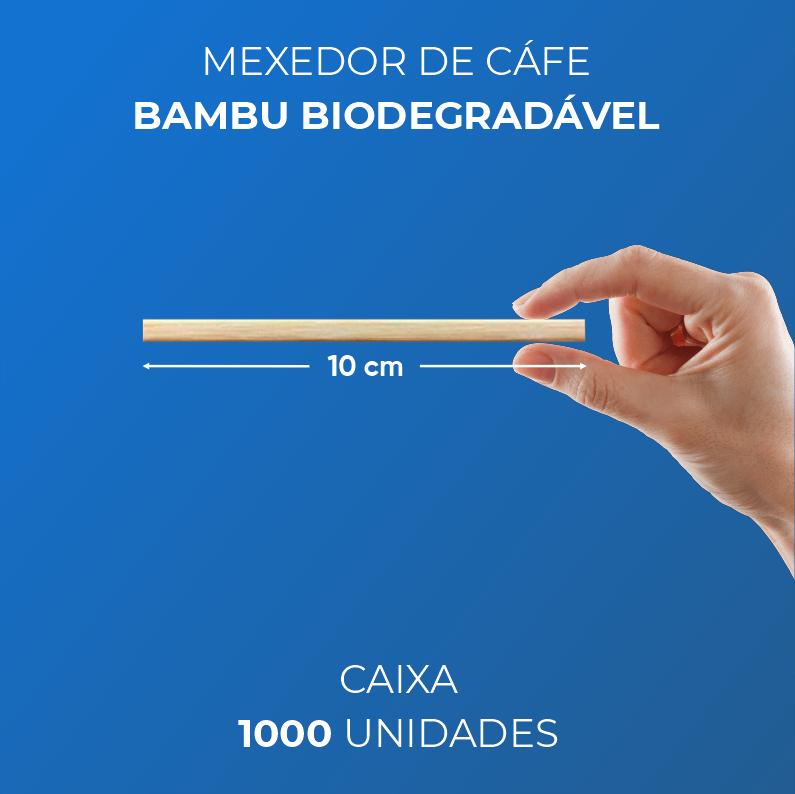 Mexedor de Café - Bambu Biodegradável