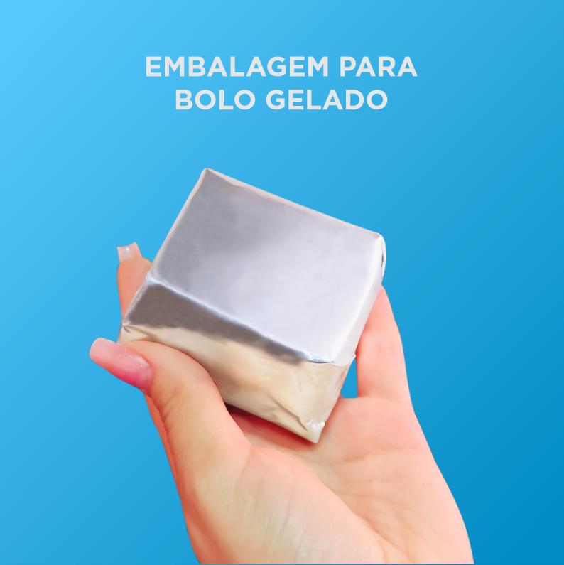 Papel Para Bolo Gelado - 20x22cm - 50 Unid.