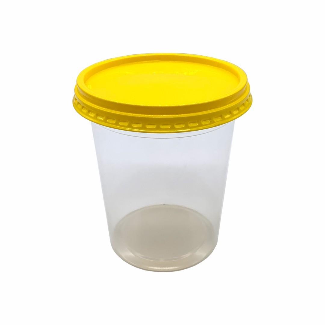 Pote Manteiga 500ml com tampa - Caixa 720und